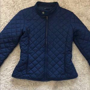 Kids light polo puffer jacket